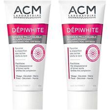 2 X ACM DEPIWHITE MASK - FADE, ELIMINATE BROWN SPOTS Whitening peel-off mask