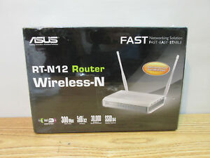 ASUS RT-N12 ROUTER WIRELESS-N   (SEALED NEW)