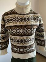 RUNOX style Danish Wool Roll Neck Jumper - see description