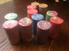 3 Pulgadas de cera perfumada crystalizing Palma vela de pilar
