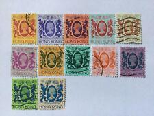 Hong Kong Nice Old Stamps