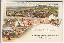 Kleinformat Ansichtskarten aus Sachsen für Reklame