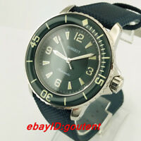 Corgeut 45mm Green Dial Miyota Automatic Men's Casual Wristwatches Wrist Watches