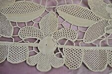 VINTGE NEEDLE LACE RUNNER HANDMADE SS432