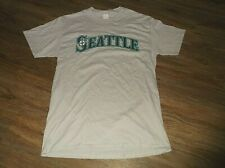 Seattle Mariners ICHIRO Suzuki T Shirt Sz Medium M Sato Healthcare Promo Cotton
