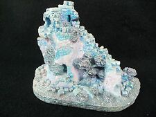 Ravenstone Ruins Castle!  THE ENCHANTED KINGDOMS!  BLUE PINK GRAY!  BLACK BIRD