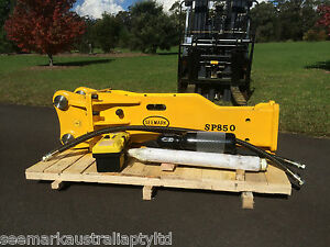 SP-850 Hydraulic Rock Breaker / Hammer suit 7 - 12 Ton Excavator