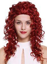wig Me Up PERRUQUE pour femme 3/4 demi-perruque Long Bouclé bouclée rouge 55cm