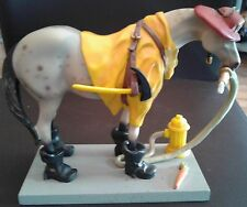 """Fireman ~Firefighter ~"""" Fireman Pony """"~ Painted Ponies ~ Collectable Figurine"""