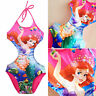 Baby Kids Girls Mermaid Bikini One-Piece Swimwear Swimsuit Swimming Costume 2-9Y