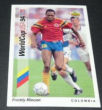 RINCON AMERICA CALI COLOMBIA FOOTBALL CARD UPPER DECK USA 94 PANINI 1994 WM94