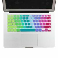 Sticker Colorful Rainbow Retina For Macbook Air Cover Keyboard Silicone