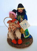 """Vintage Annalee Wise Men 5426 Mobilitee 9"""" Handcrafted Nativity Christmas Dolls"""