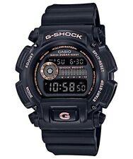 Casio Reloj G-Shock Negro Oro Rosa DW-9052GBX-1A4 HOMBRES con Seguimiento