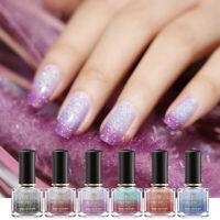 BORN PRETTY 6ml Thermal Nail Polish Color Changing Holographic Nail Art Varnish