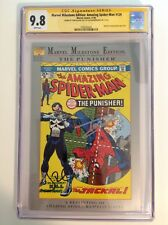 CGC 9.8 SS Marvel Milestone Amazing Spider-Man #129 signed Holland & Bernthal