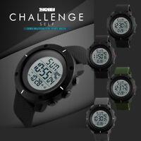 SKMEI Mens 1213 All Black Military Style Army Walking Sports Waterproof Watch