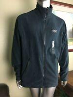Helly Hansen Men's ZIP Polartec Prostretch Fleece Jacket Size XXL 597 Navy