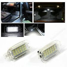 2X Mercedes LED Footwell Luggage Door Interior Light Canbus W204 W216 W212 W212