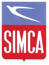 SIMCA Sticker vinyle laminé