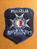 MALTA PATCH POLICE NATIONAL - ORIGINAL!