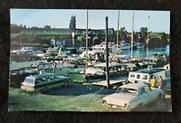 "VINTAGE Unused Post Card  ""The Harbor And Docks""  Tobermary, Ontario, - Canada"