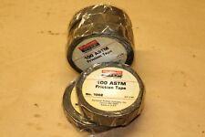 """New listing Plymouth Bish 100 Astm Friction Tape 3/4""""x60' #1002 Qnty 5"""