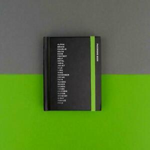 Phonetic alphabet PASSWORD BOOK Mini pocket pad Small Handbag reminder New