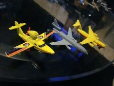 Matchbox DieCast Metal LOT OF 3PLANES Search PLANE,DC-10 SB-13 AND DHL SKY CARGO