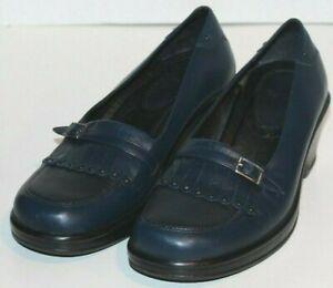 "WOMEN SHOES ""DANSKO"" LOAFERS CLOGS Size EU 39  US 8.5M BLUE PORTUGAL"