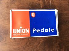 """NOS NIB Union Block Pedals, German, 9/16"""", Vintage"""