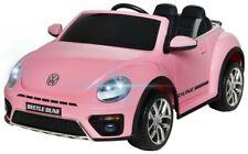 Volkswagen Beetle Dune Rose12 Volts Electrique pour enfant avec télécommande par