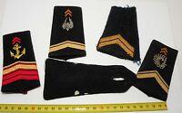 lot de 5 épaulettes / Manchons anciennes Armée Francaise ( Lot  - 015 )