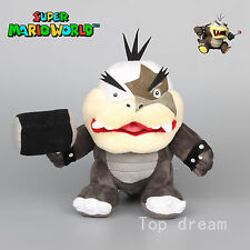 "New Super Mario Bros. 2 Plush Morton Koopa Jr. Soft Toy Teddy Stuffed Animal 8"""