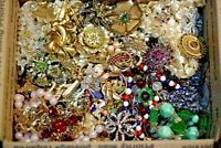 Jewelry Vintage Modern Huge Lot ALL GOOD Wearable RESELL Over One Full Pound Mix