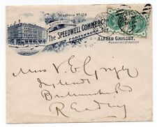 1901 Advertising  envelope - The Speedwell Commercial Hotel Portsmouth - Sg 213