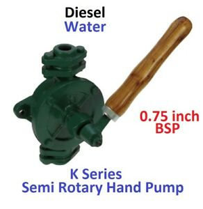 0.75 INCH SEMI ROTARY HAND PUMP **ONLY** FOR DIESEL AND LIGHT OILS
