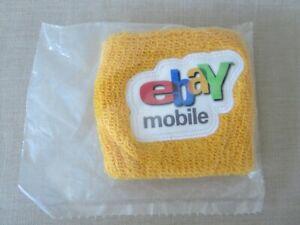 eBay Mobile Wrist Arm Sweat Band Yellow eBayana Brand New