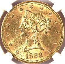 1888 $10 MS62 NGC-LIBERTY