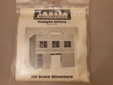 HO SCALE RIX/SMALL TOWN USA 699-6008 FREIGHT OFFICE STRUCTURE KIT