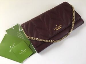 Kate Spade New York leather chain wallet Direct from Japan authentic U76