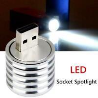 USB-Stecker LED-Scheinwerferlampe Mini Mobile Power-Taschenlampe N2Z0