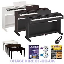Yamaha Ydp143 Digital Piano in Black - 6 Months Online Lessons