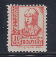 ESPAÑA (1937) NUEVO SIN FIJASELLOS MNH - EDIFIL 823 (30 cts) ISABEL - LOTE 1