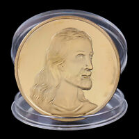 Jesus Last Supper Gold Plated Souvenir Coin Xmas Souvenir Coin New Year Gift gt