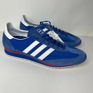 New Men's Adidas SL 72 Blue Size 12 Shoes Valencia Hamburg Bern Sneakers FY7689