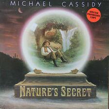"""Vinyle 33T Michael Cassidy  """"Nature's secret"""" - promotional cpoy"""