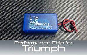 Performance Speed Chip Racing Torque Horsepower Power ECU Module for Triumph