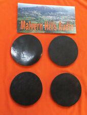 4 x Sorbothane Discs / Feet 52mm. Diameter x 3mm. Enhanced Sound & Isolation