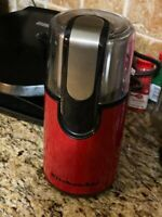 KitchenAid -  Blade Coffee Grinder - Empire Red